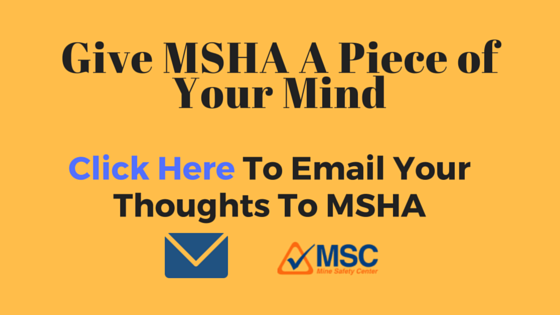 Copy of Pressed For Time Email MSHA comment